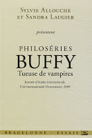Sylvie Allouche et Sandra Laugier - Philoséries Buffy