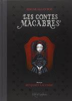 Les Contes Macabres d'Edgar Poe et illustré par Benjamin Lacombe