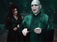 Voldemort et Bellatrix JK Rowling - Harry Potter