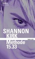 Shannon Kirk - Méthode 15.33