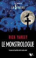 Le Monstrologue - Rick Yancey