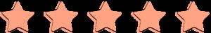 5 étoiles, Overbooks