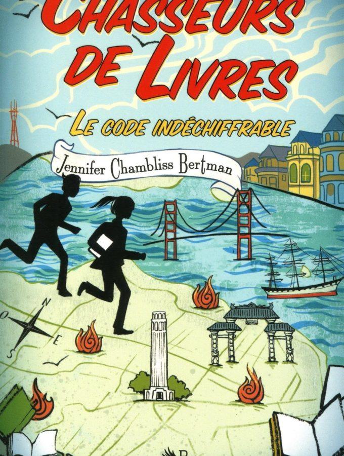 Chasseurs de livres T2, Le code indéchiffrable, Jennifer Chambliss Bertman, Overbooks